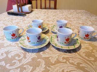 colección tacitas para té