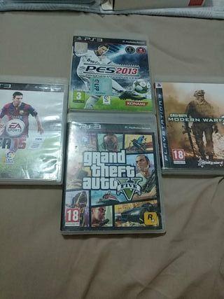 4 juegos De PS3