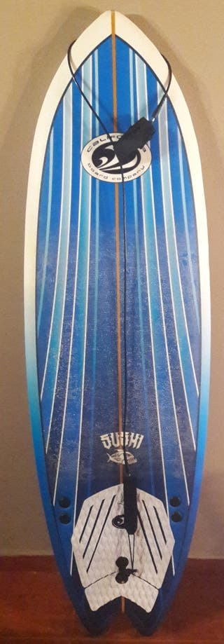 tabla surf 6,4 kortxipan softboard fish cbc