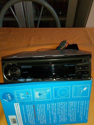 RADIO CD KENWOOD PARA COCHE