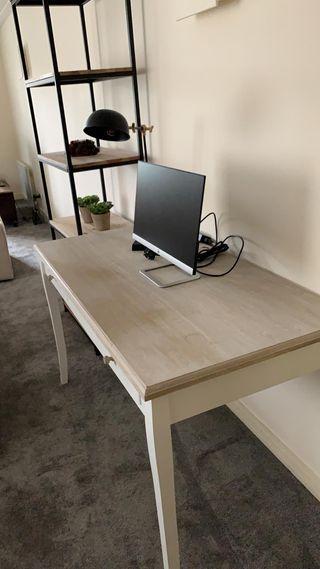 Maisons du Monde White 2-drawer Desk