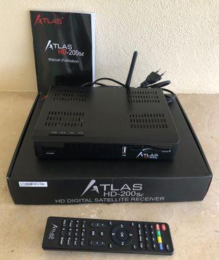 ATLAS HD 200se décodeur récepteur satellite