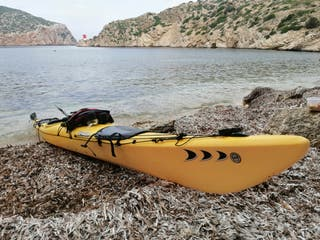 "kayak piragua de mar ""prijon barracuda"""