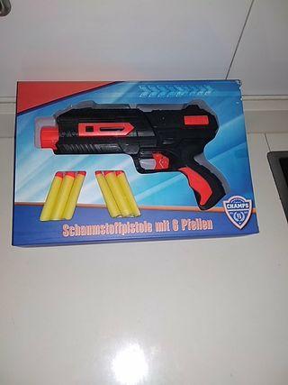 pistola juguete nerf