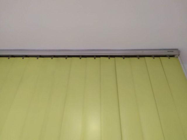 Cortinas de lamas semi rígidas en PVC