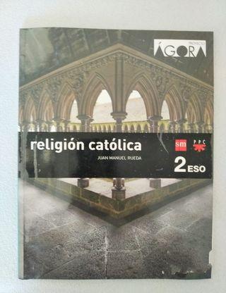 Libro Religión católica, Proyecto Ágora 2 ESO