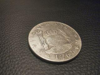 columnario 8 reales 1765