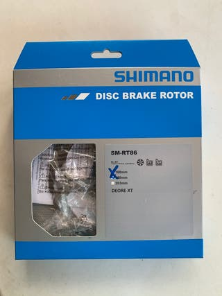 Disco de freno trasero mtb shimano 160