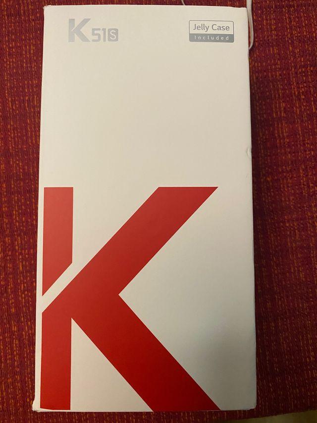 Teléfono móvil nuevo LG K51S