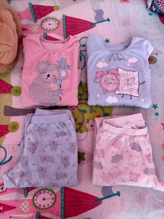 lote pijamas niña talla 5 años