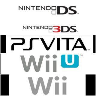 Juegos de NintendoDS,Nintendo 3DS,Wii,Wii U,psvita