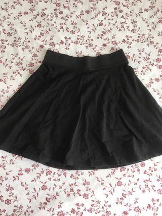 Falda cintura elástica