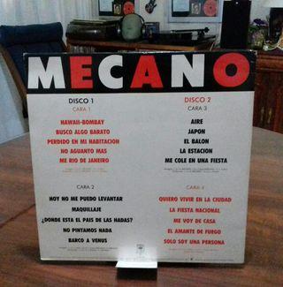 DISCO VINILO MECANO 20 GRANDES CANCIONES.
