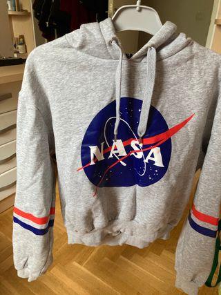 SUDADERA NASA MUJER