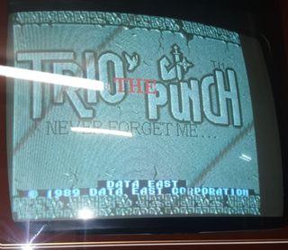 Jamma Trio the Punch arcade