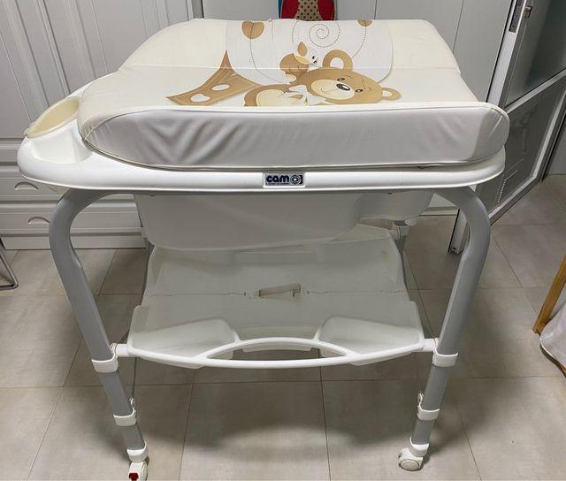 Bañera-cambiador CAM de Bebé