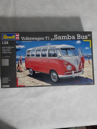 maqueta revell volswagen samba