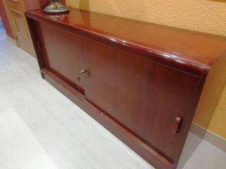 Mueble despacho estilo clásico en madera maciza