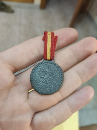 medalla militar españa falange libre 18 julio