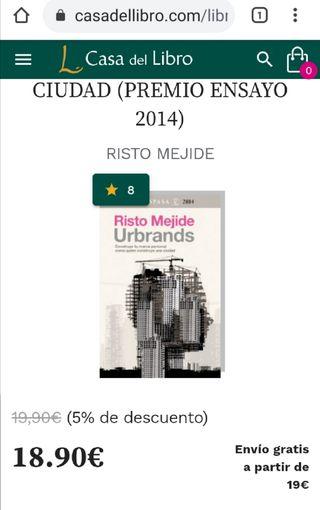 Urbrands, libro de Risto Mejide