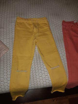 Pantalones vaqueros de niña talla 6