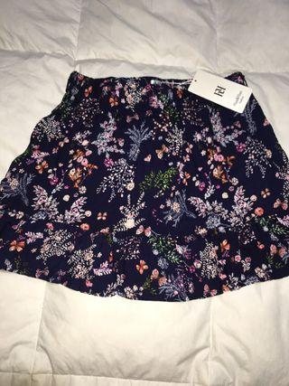Falda de flores talla XL
