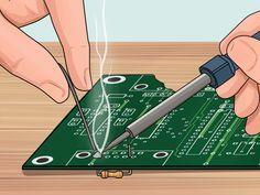 Reparación de circuitos y artefactos electrónicos