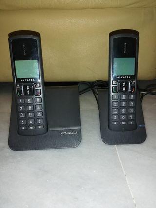 DUO TELEFONOS INALÁMBRICOS ALCATEL