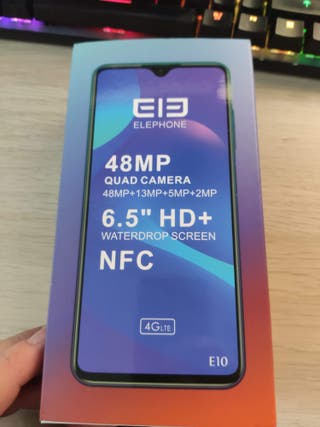 Elephone E10 4gb ram 64gb rom COLOR AZUL