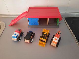 garaje + 4 coches Ikea