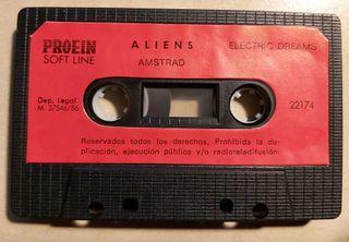 Aliens Amstrad Cinta