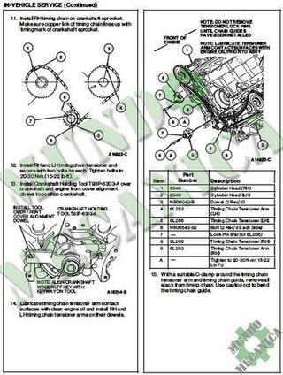 Manual Reparacion Motor 4.6 3.8L Ford Thunderbird