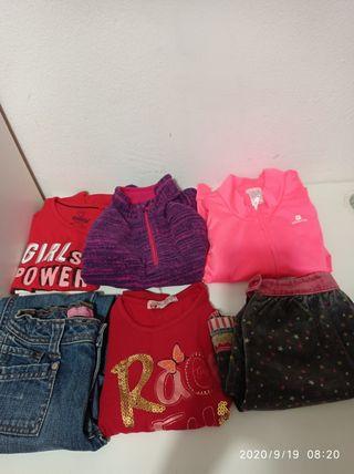 Lote de ropa niña 4 años