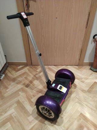 Patinete scooter eléctrico.