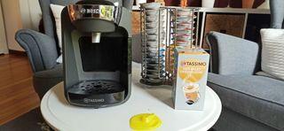 Cafetera Tassimo Suny + Dispensador + 47 Capsulas