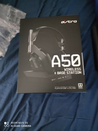Auriculares ps4 ps5 Astro50 WIRELESS + BASE