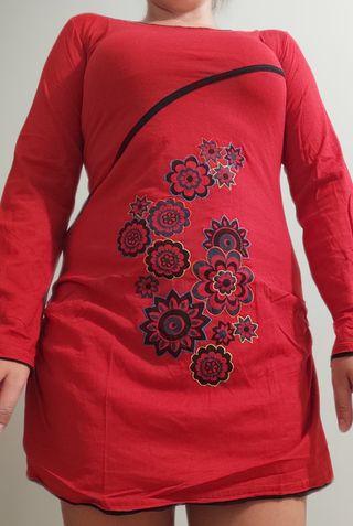 Vestido rojo Nuevo estilo Desigual