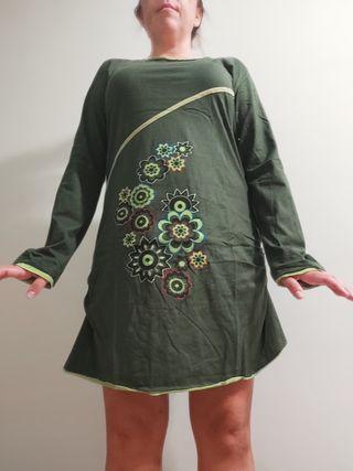 Vestido verde Nuevo estilo Desigual