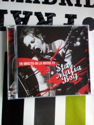 STAR MAFIA BOY - EN DIRECTO EN LA GRUTA 77 (CD)