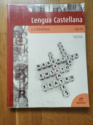 lengua Castellana y literatura siglo XX editex