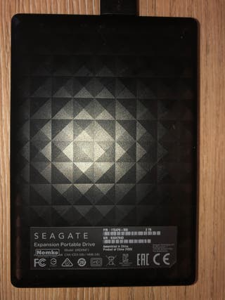 Disco duro externo Seagate 2tb