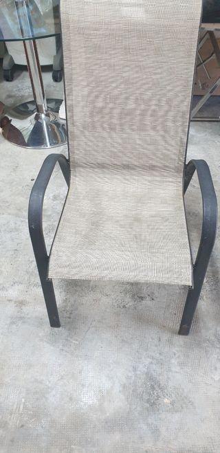4 sillas de jardín buen estado