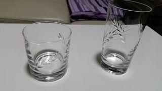 Juego de vasos whiskey y cóctel, cristal D'Arques