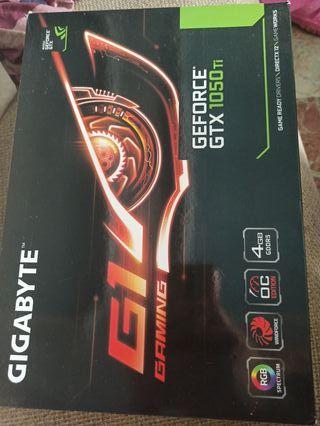Tarjeta gráfica gaming Nvidia GeForce GTX 1050 ti