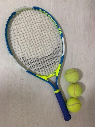 Raqueta tenis niño/niña