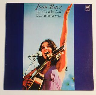 JOAN BAEZ Gracias a la vida Disco Vinilo LP
