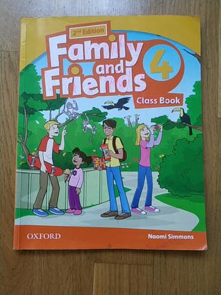 2 edición Family and Friends clases book 4 OXFORD