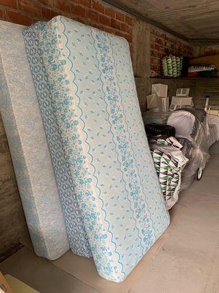 Colchón 0,90 ancho x 1,82m de alto