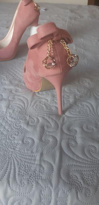 Zapato rosa palo n.38