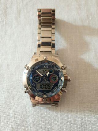 Reloj de pulsera analógico y digital